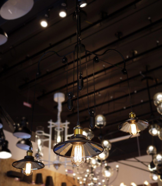 โคมไฟระย้า โคมไฟเพดาน โคมไฟวินเทจ โคมไฟลอฟท์ LOFT LFB1008