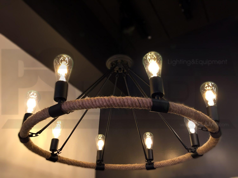 โคมไฟระย้า โคมไฟเพดาน โคมไฟวินเทจ โคมไฟลอฟท์ LOFT LFB1018