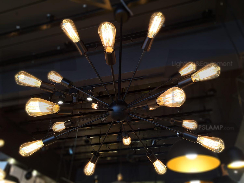 โคมไฟระย้า โคมไฟเพดาน โคมไฟวินเทจ โคมไฟลอฟท์ LOFT LFB1028