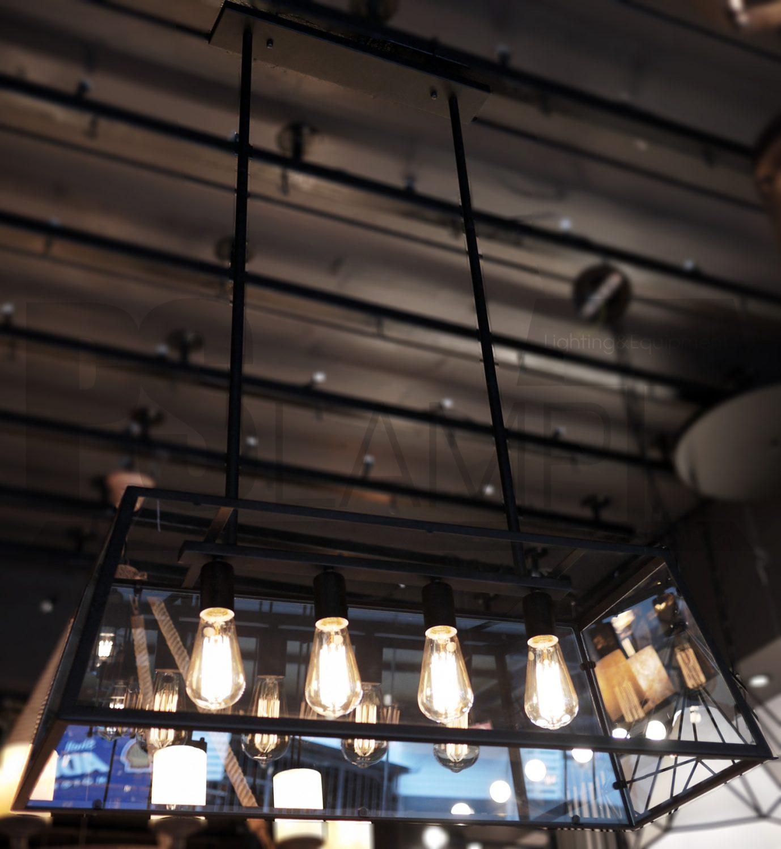 โคมไฟระย้า โคมไฟเพดาน โคมไฟวินเทจ โคมไฟลอฟท์ LOFT LFB1005