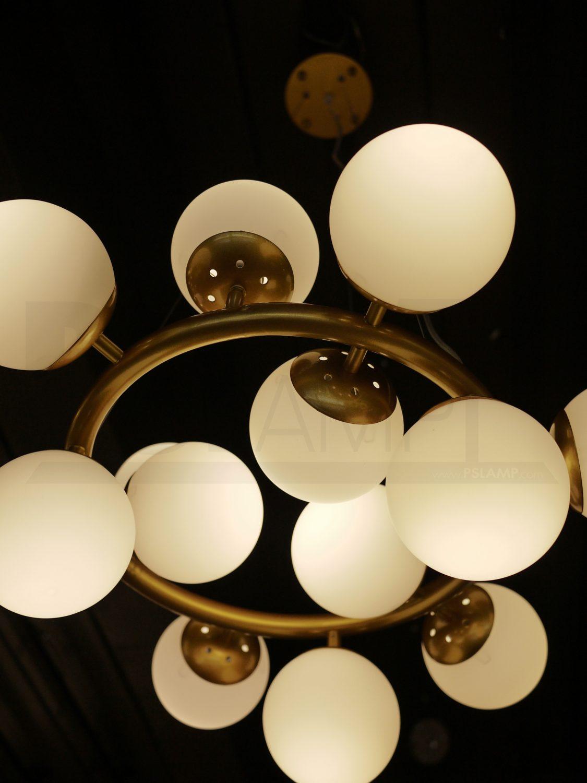 โคมไฟระย้า โคมไฟเพดาน โคมไฟแขวน โคมไฟโมเดิร์น โคมไฟช่อ LFC1021