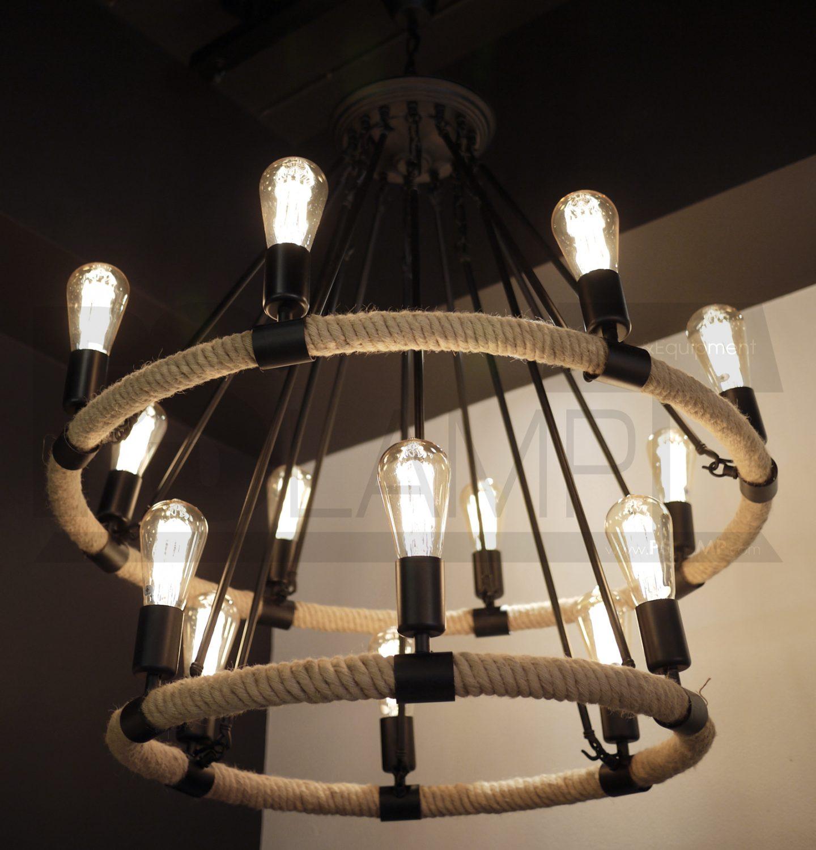โคมไฟระย้า โคมไฟเพดาน โคมไฟวินเทจ โคมไฟลอฟท์ LOFT LFB1017