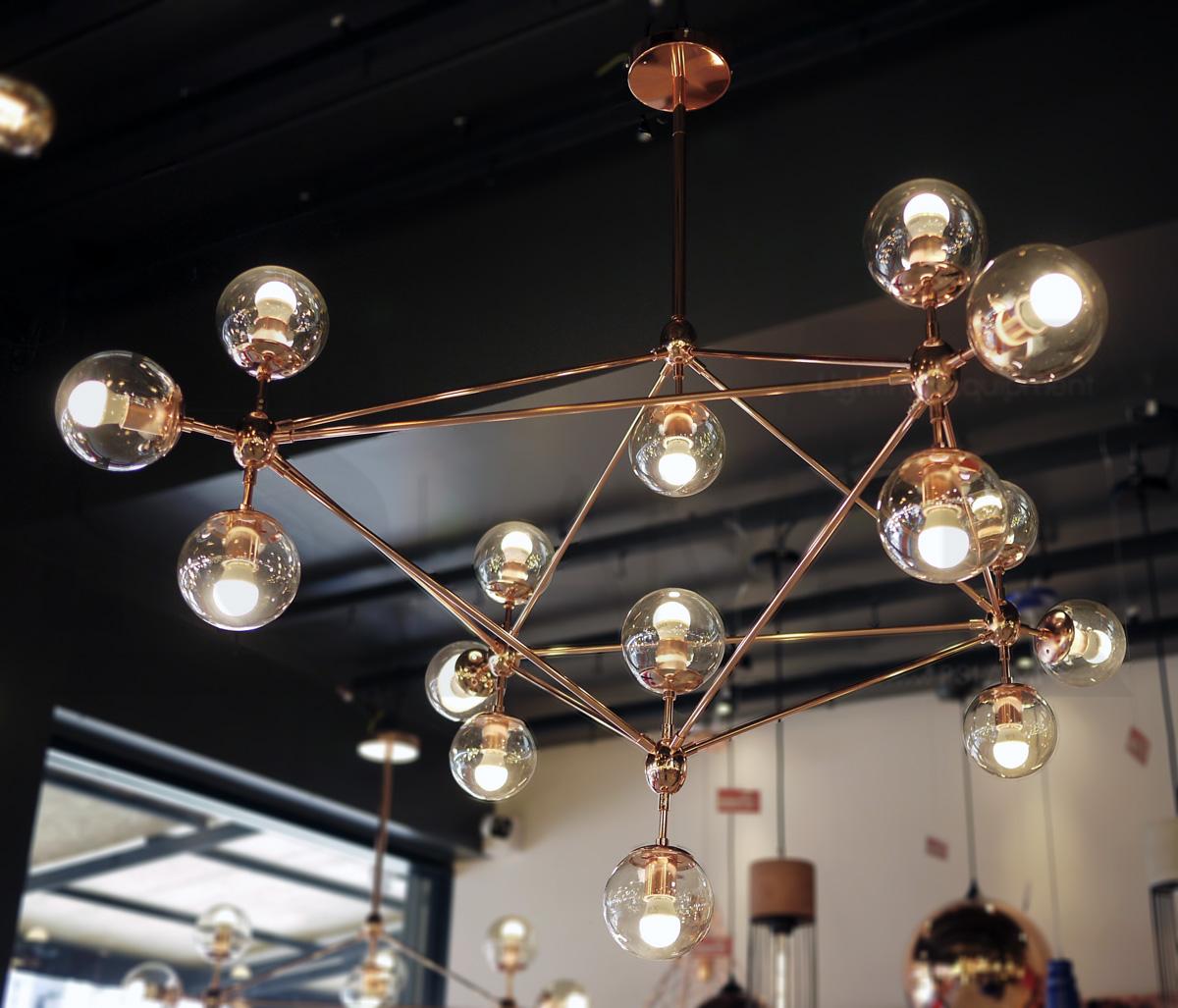โคมไฟระย้า โคมไฟเพดาน โคมไฟแขวน โคมไฟโมเดิร์น โคมไฟช่อ LFC1033