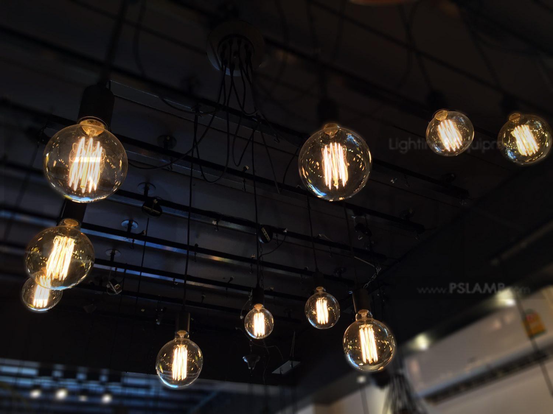 โคมไฟระย้า โคมไฟเพดาน โคมไฟวินเทจ โคมไฟลอฟท์ LOFT LFB1012