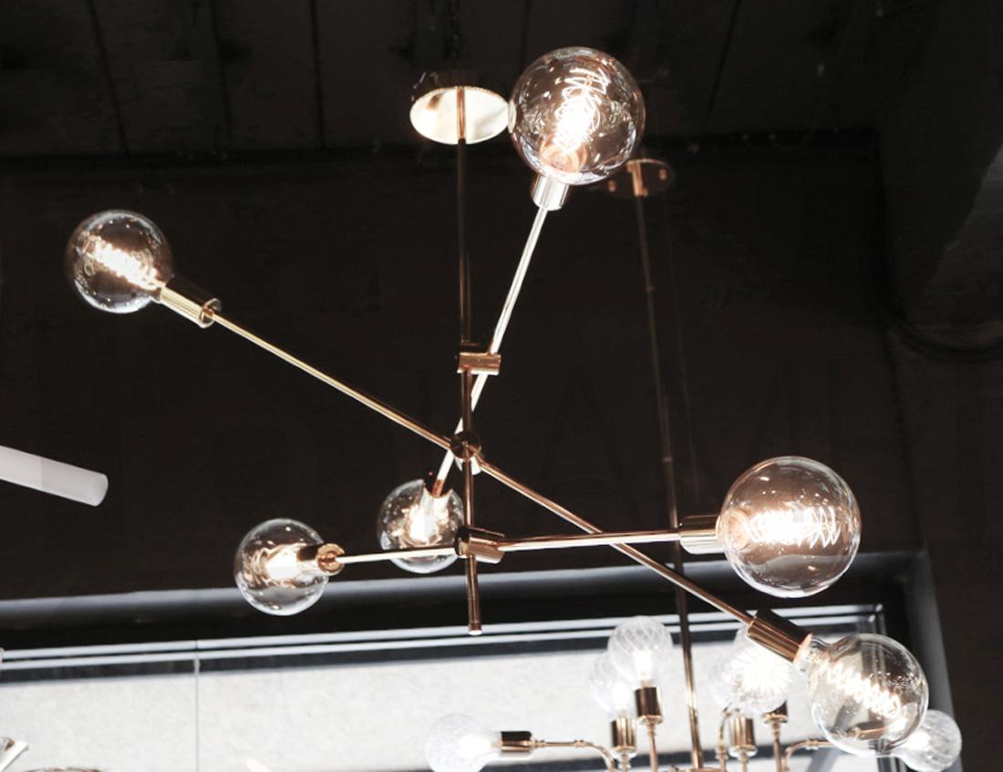 โคมไฟระย้า โคมไฟเพดาน โคมไฟแขวน โคมไฟโมเดิร์น โคมไฟช่อ LFC1034 GENTO-6
