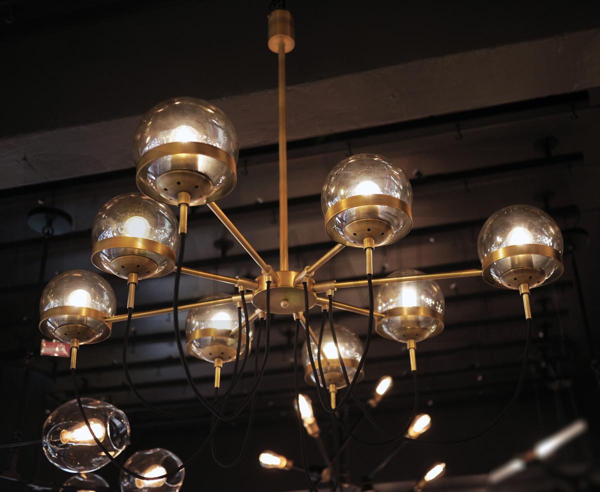 โคมไฟระย้า โคมไฟเพดาน โคมไฟแขวน โคมไฟโมเดิร์น โคมไฟช่อ LFC1041 IGODA-8