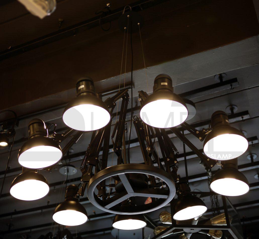 ร้านขายโคมไฟ ร้านโคมไฟ โคมไฟห้อย โคมไฟเพดาน โคมไฟระย้า LF1-NAKED-9