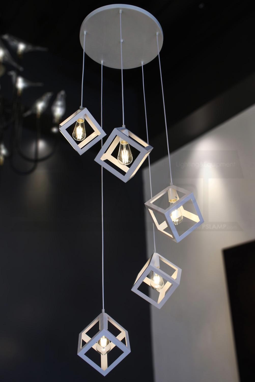 โคมไฟห้อย-โคมไฟแขวน-ร้านโคมไฟ-ร้านขายโคมไฟ-BOXC-WH-T5-4