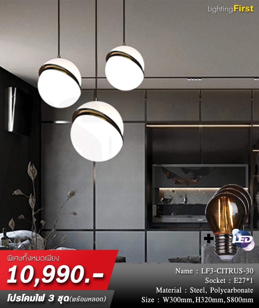โคมไฟเพดาน-โคมไฟระย้า-โคมไฟห้อย-โคมไฟโมเดิร์น-โคมไฟวินเทจ-LF3-CITRUS-30