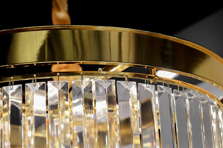 โคมไฟระย้า โคมไฟคริสตัล CRYSTAL โคมไฟแชนเดอเรีย Chandelier CIRENA-500-GD