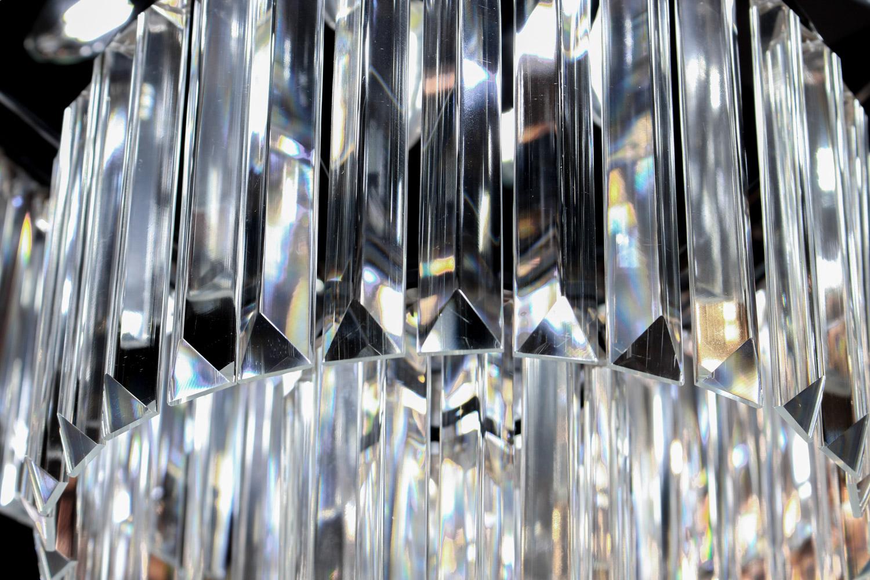 โคมไฟระย้า โคมไฟคริสตัล CRYSTAL โคมไฟแชนเดอเรีย Chandelier VERENA-800-BK