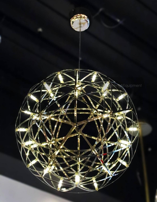โคมไฟห้อย โคมไฟเพดาน โคมไฟโมเดิร์น LF1-BOSTAR-60-GD