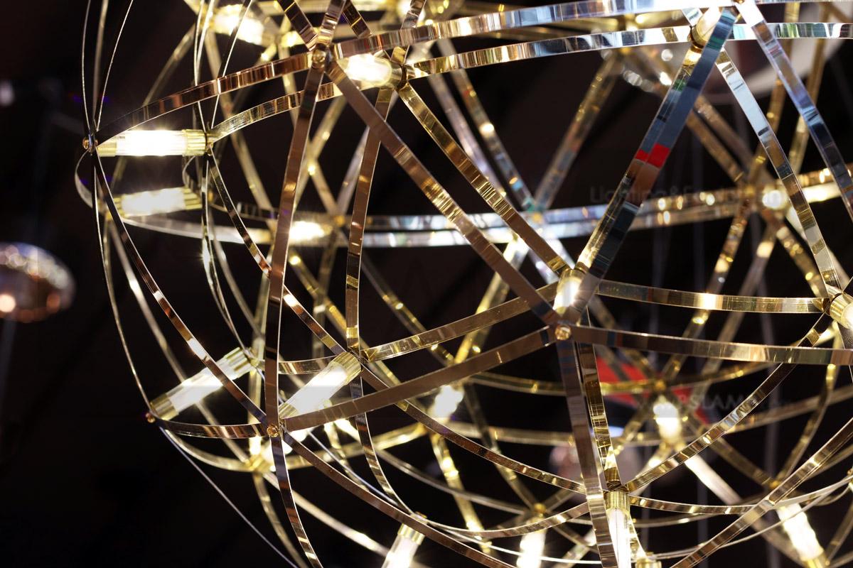 โคมไฟห้อย โคมไฟเพดาน โคมไฟโมเดิร์น LF1-BOSTAR-80-GD